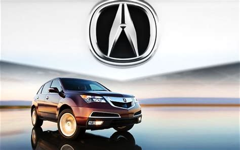 2010 Acura Mdx Luxurious Starting At $42,230 Msrp