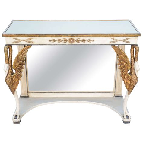 pier one mirrored sofa table painted and parcel gilt pier table with mirrored top for