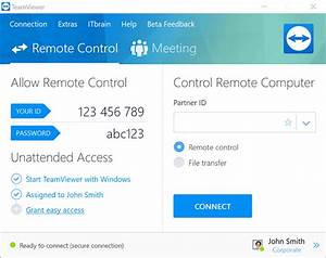 TeamViewer Remote Support Remote Access Service Desk