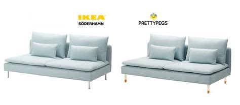 Ikea Soderhamn Sofa Hack by Soderhamn Sofa Ikea Hack To Exchange The Legs Our