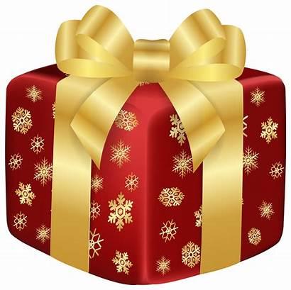 Gift Clipart Clip Transparent Caja Navidad Snowflake