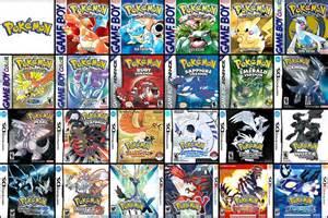 ranking pokemon games