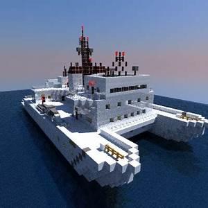 Kilo Moana Research Vessel Minecraft Project