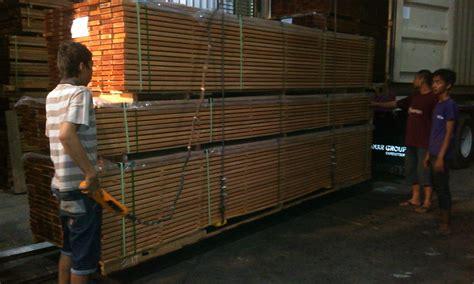 wood processing company bangkirai decking yellow balau