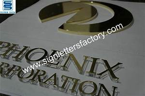 laminated acrylic letters With laminated letters