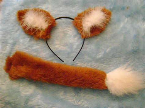 Mr Swiper The Fox Ears And Tail Set Instant Fancy Dress
