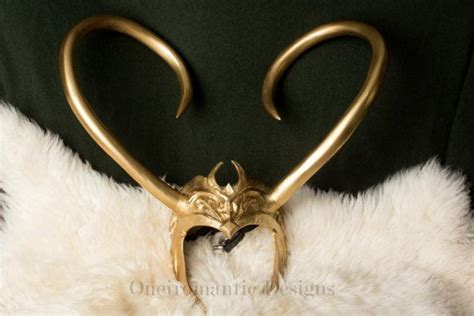Lady Loki Horns Cosplay Headdress By Oneiromanticdesigns
