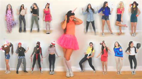 minute diy halloween costume ideas youtube