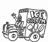 Ice Cream Truck Coloring Drawing Sandwich Colouring Sheet Template Sketch Getdrawings sketch template