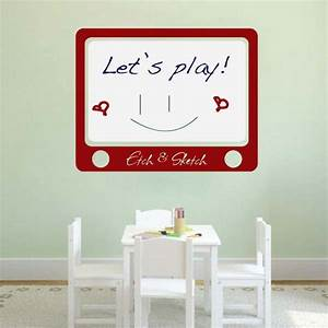 etch and sketch dry erase wall decal trendy wall designs With kitchen colors with white cabinets with dry erase board sticker