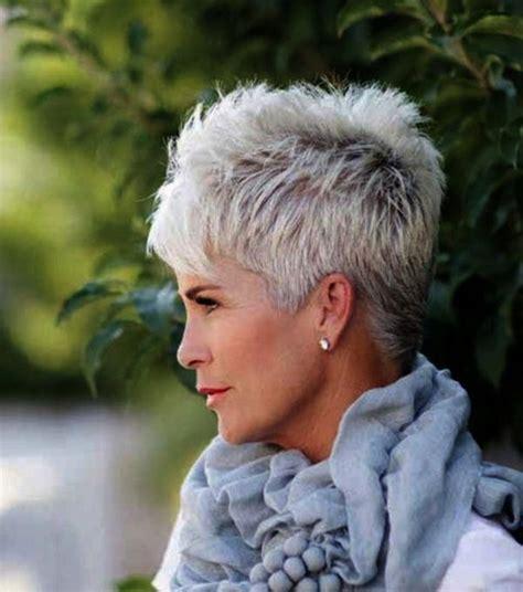 70 Anti Aging Short Hairstyles for Older Women Short