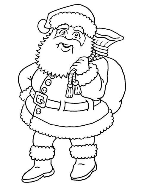 ausmalbilder weihnachtsmann kostenlos malvorlagen zum ausdrucken page  sur  affefreundcom