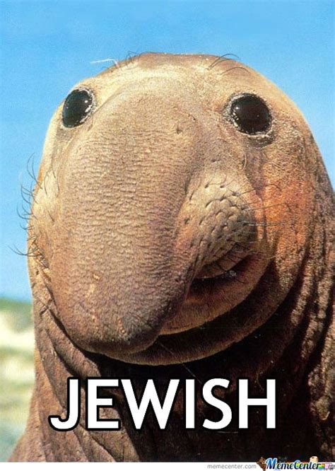 Big Nose Meme - jewish nose by the crazy and insane meme center