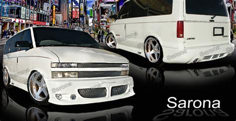 custom chevy astro body kit van