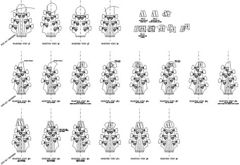 bass headstock template danelectro how to build a guitar in 62 easy steps