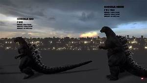 Azuraring Reacts  Evolution Of Godzilla  Size Comparison