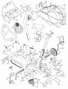 Proform 283120 Parts List And Diagram   Ereplacementparts Com