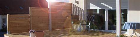 Sicht, Windschutz Rembart  Holz Im Garten