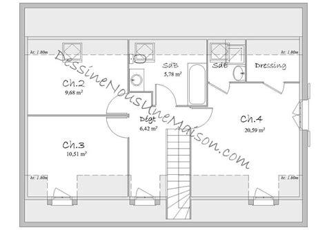 plan maison plain pied 3 chambres 1 bureau plan de maison traditionnelle gratuit plan maison plain