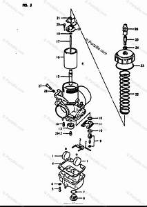 Suzuki Motorcycle 1980 Oem Parts Diagram For Carburetor