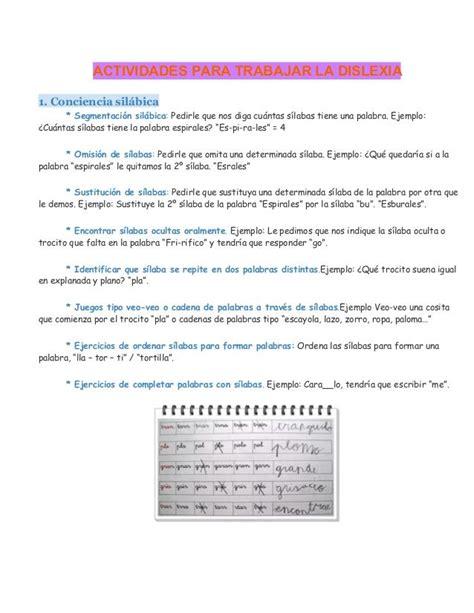 42 mejores imágenes sobre dislexia en pinterest