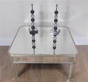 Table Basse Miroir : art d co miroir table basse ~ Melissatoandfro.com Idées de Décoration