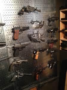 Pegboard Gun Display Room