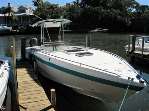 Used Scarab Sport Boats For Sale by 1993 Used Scarab 30 Scarab Sport Center Console Fishing
