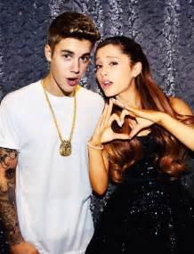Ariana Grande and Justin Bieber