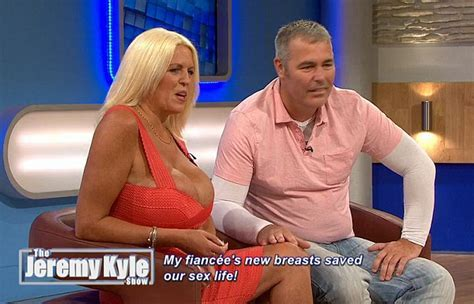 Jeremy Kyle Viewers Stunned By Grandmother Who Paid For Mm Breast Implants