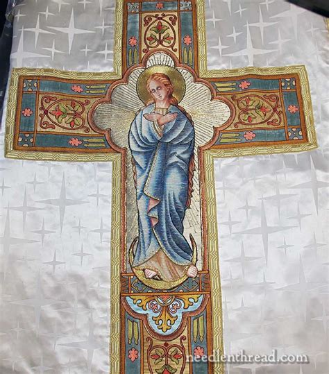 repairing  creating hand embroidered vestments
