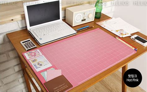 Office Desk Mat by 10day Shipping Basic Pink Desk Mat 22x13 Quot Pad Nonslip