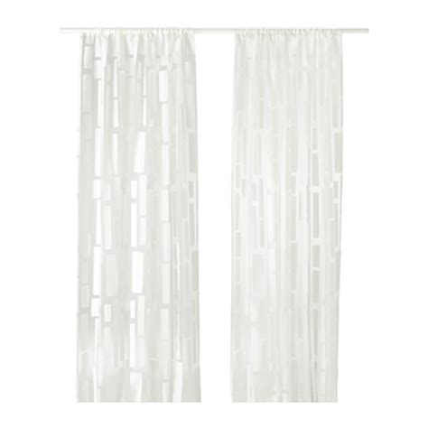 strandr 197 g sheer curtains 1 pair ikea