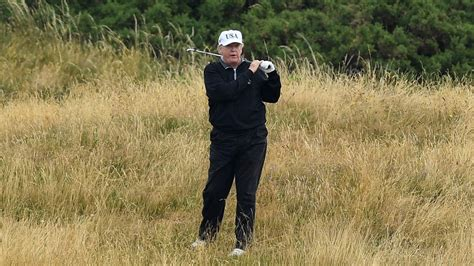 trump donald health golfer avid obese officially very