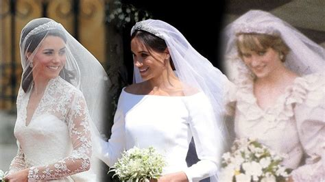 Meghan Markle, Kate Middleton And Princess Diana