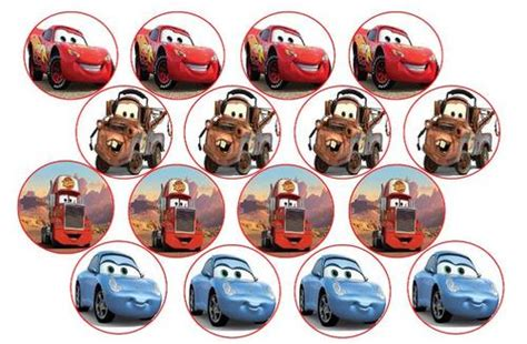 cake decorating cars edible picture cupcake toppers