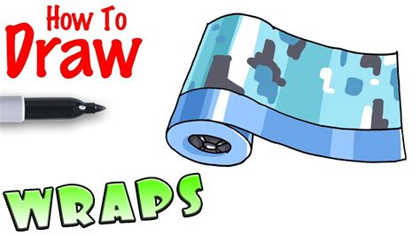 draw wraps fortnite youtube