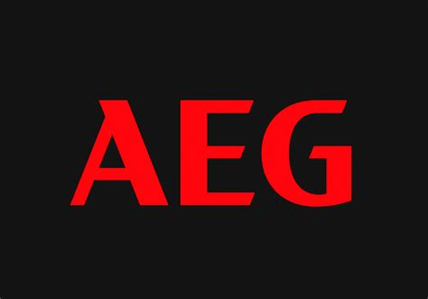 electrolux aeg brand logo and identity for aeg by prophet