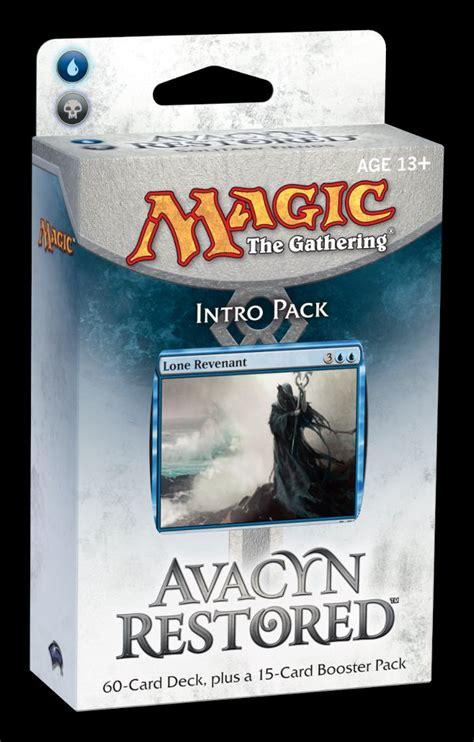 mtg intro decks amonkhet avacyn restored intro and event decks