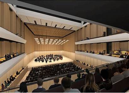 Hall Concert Architecture Architects Beta Competition International