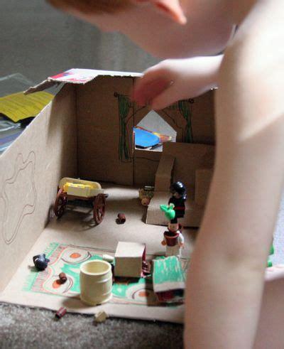 playing  trash mini lego playhouse   takes