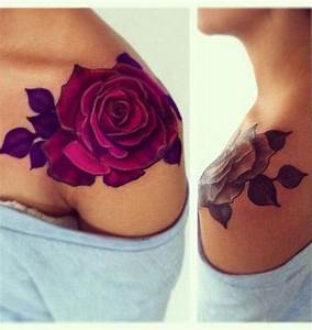 30 Gorgeous Shoulder Tattoo Designs For Women | Amazing ...