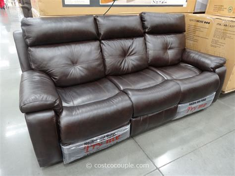 costco leather sofa in store costco futon roselawnlutheran