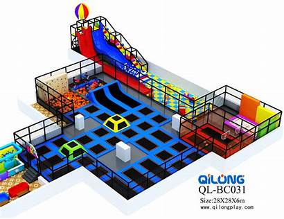 Bungee Trampoline Indoor Amusement Professional Children Park