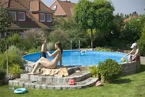 Pool Für Den Garten : ein eigener pool im garten badespa f r die ganze familie ~ Watch28wear.com Haus und Dekorationen