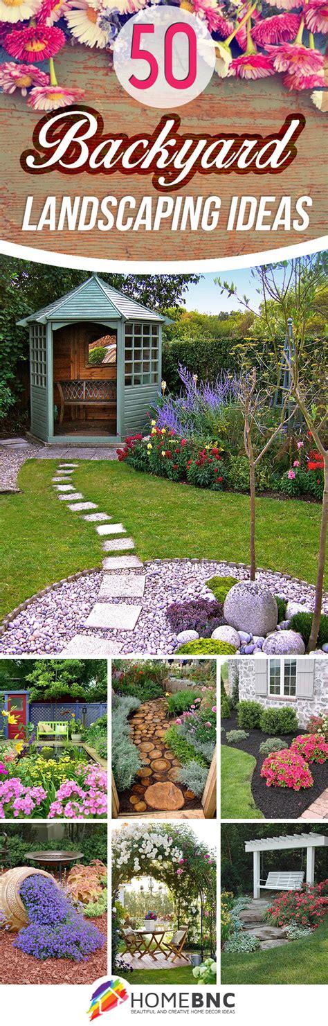 Landscape Backyard Design Ideas by 50 Best Backyard Landscaping Ideas And Designs In 2019