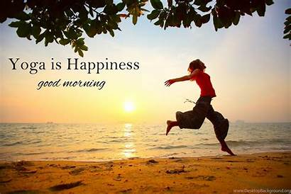 Yoga Morning Desktop Background Wallpapers Nature Happiness