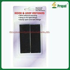 hook and loop velcro fastening on