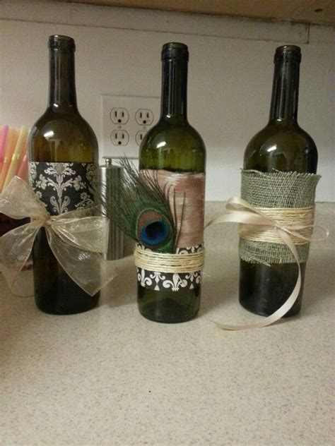 crafts with wine bottles wine bottle craft night future pinterest home pinterest
