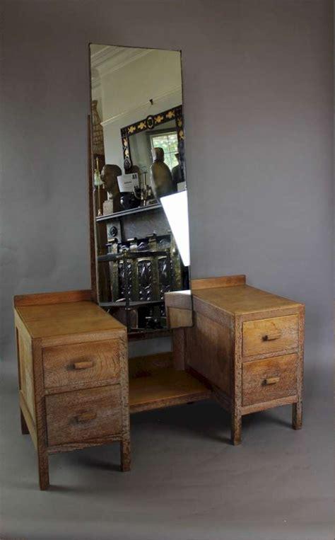 heals  limed oak dressing table   russet